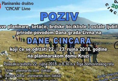 Dani Cincara 2018.