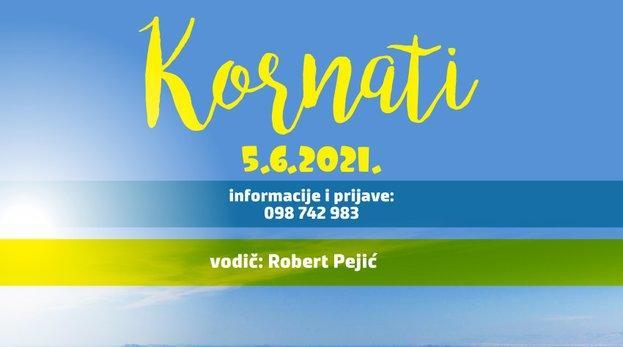 Izlet na Kornate – Subota 5. lipnja 2021.